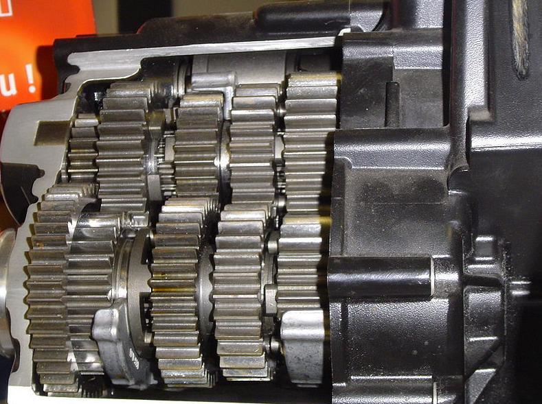 Engranajes, piezas de una máquina