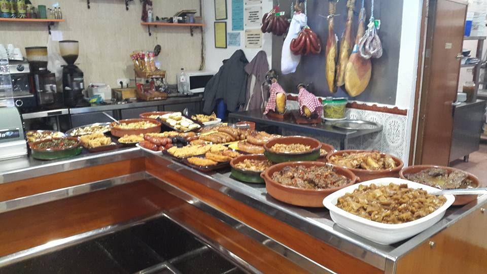 Almuerzos y menús diarios a muy buen precio