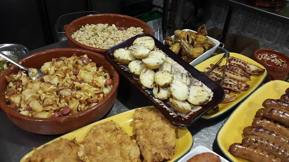 Gran variedad de platos en Constantí
