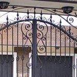 Puertas de entrada a parcelas : Trabajos de Cerrajería Alberto Bautista.