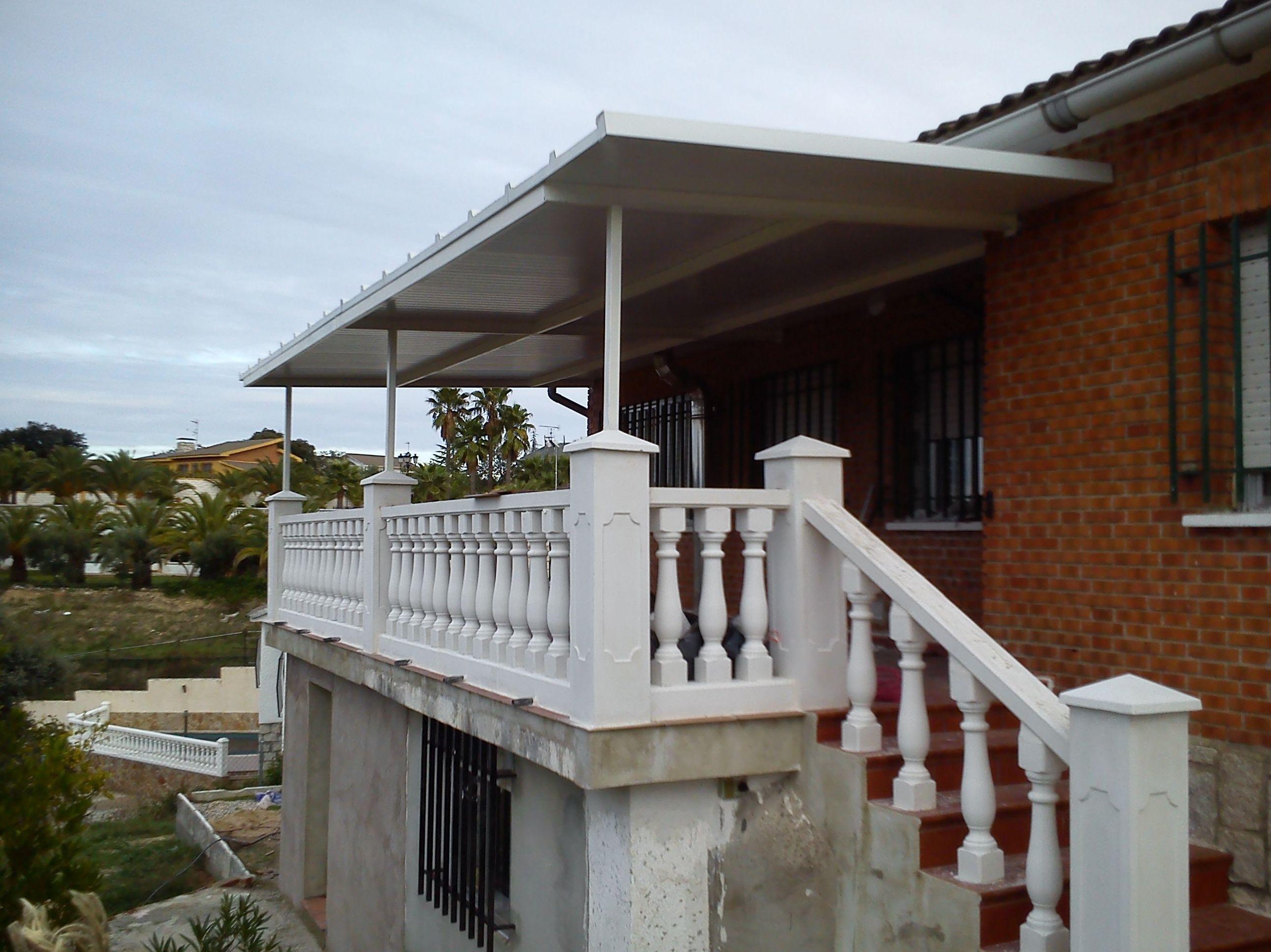 Cubierta de terraza.