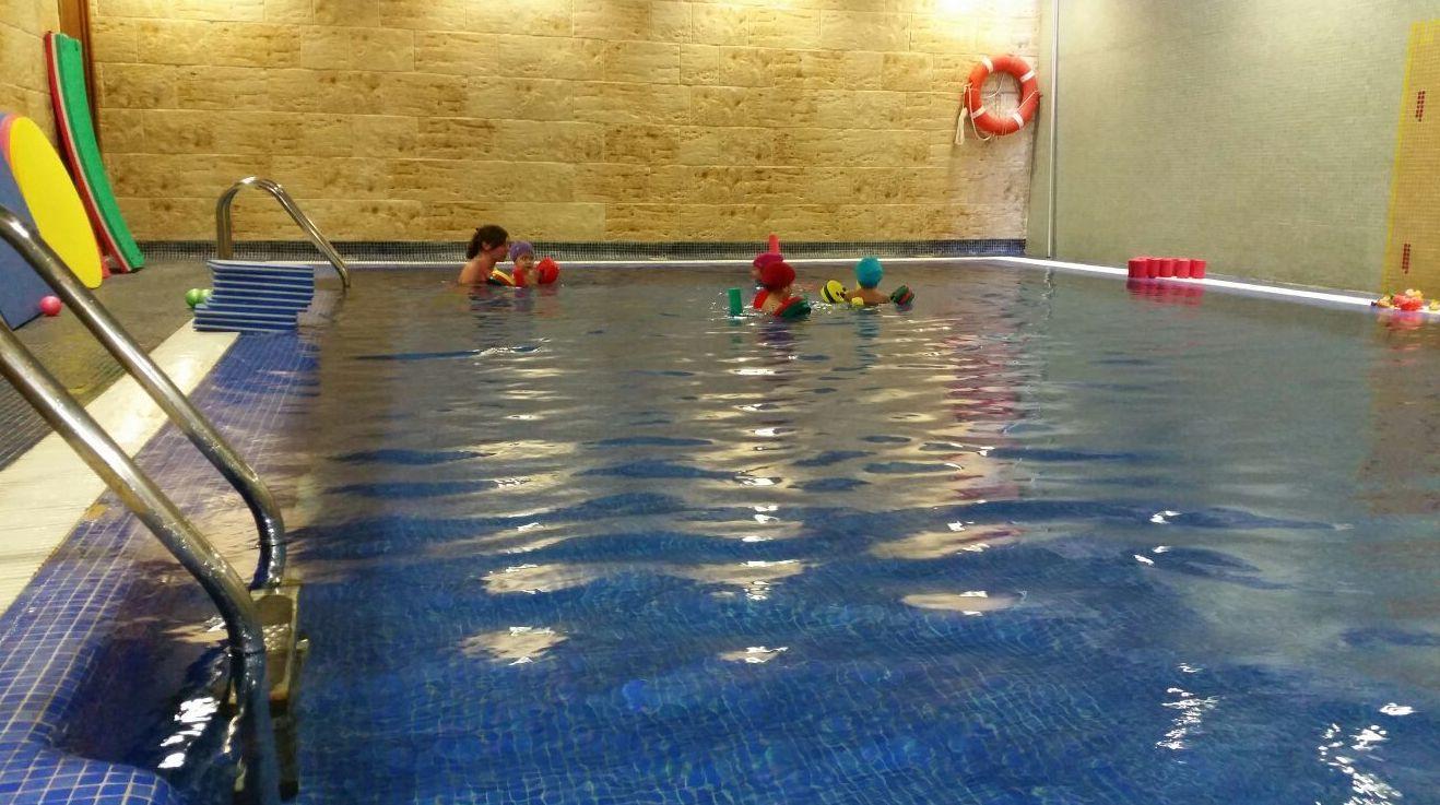 Exhibición de natación