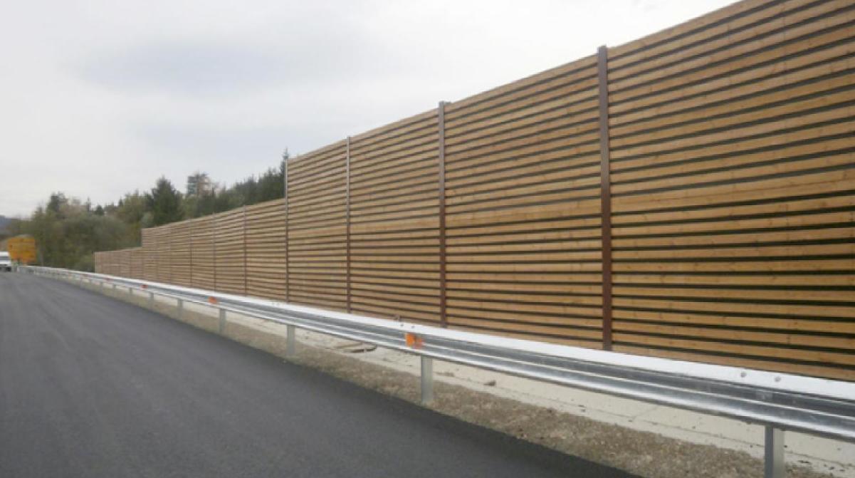 Pantalla acústica madera Pino Soria