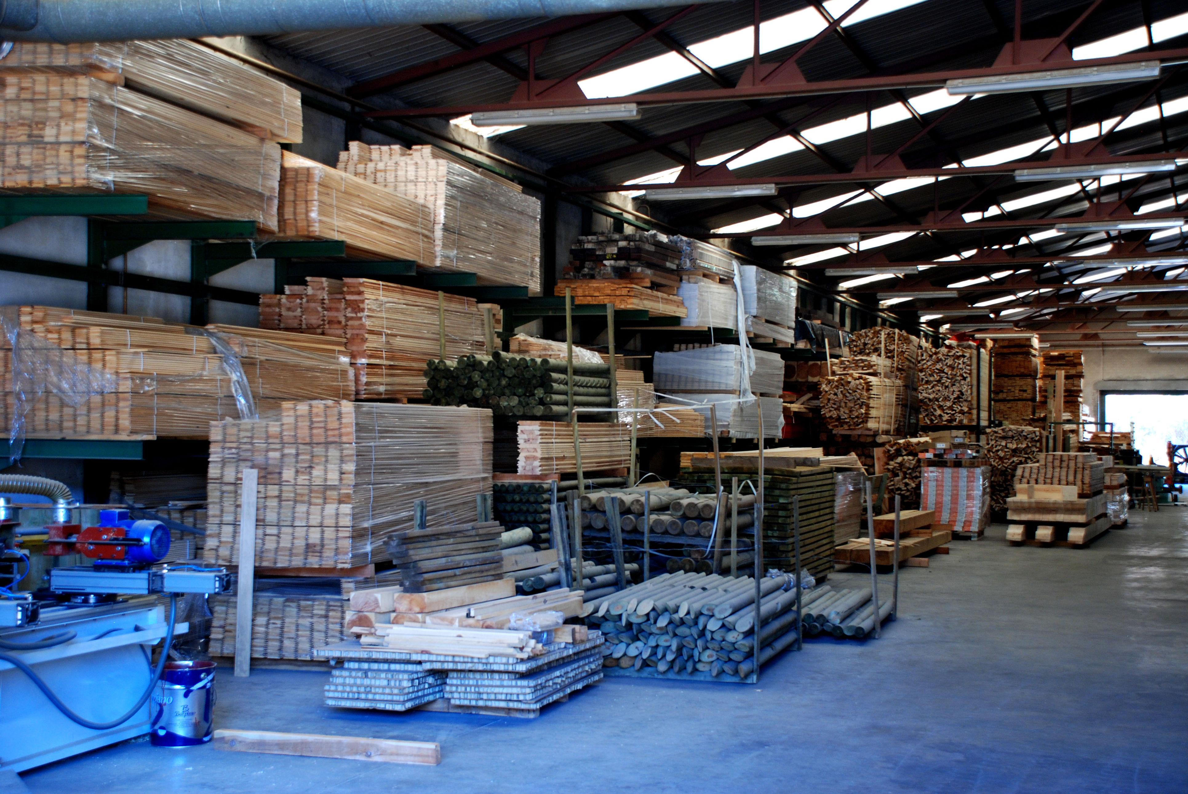 Madera para mobiliario en exterior Pino Soria