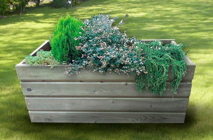 Papeleras y jardineras: Productos de Maderas Rupérez