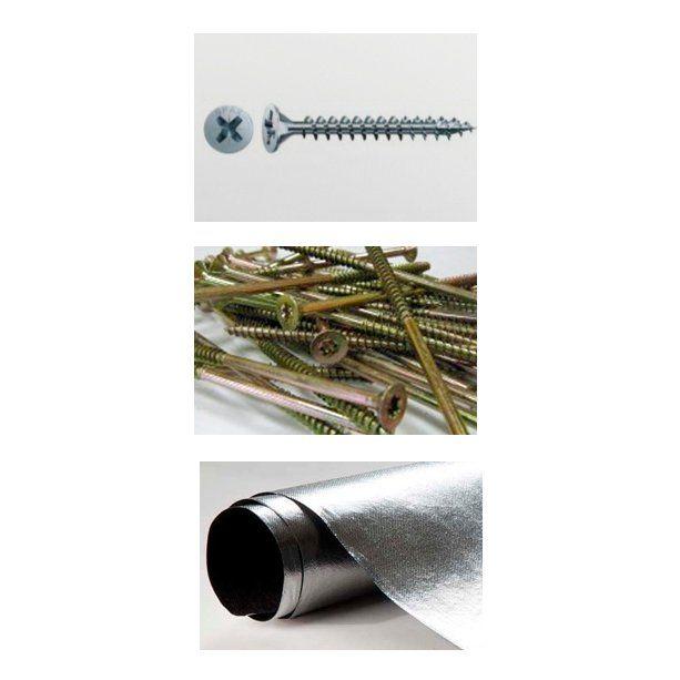 Tornillería y accesorios: Productos de Maderas Rupérez