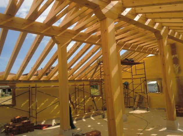 Estructura de madera Pino Soria