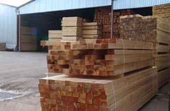 Madera para uso estructural: Productos de Maderas Rupérez