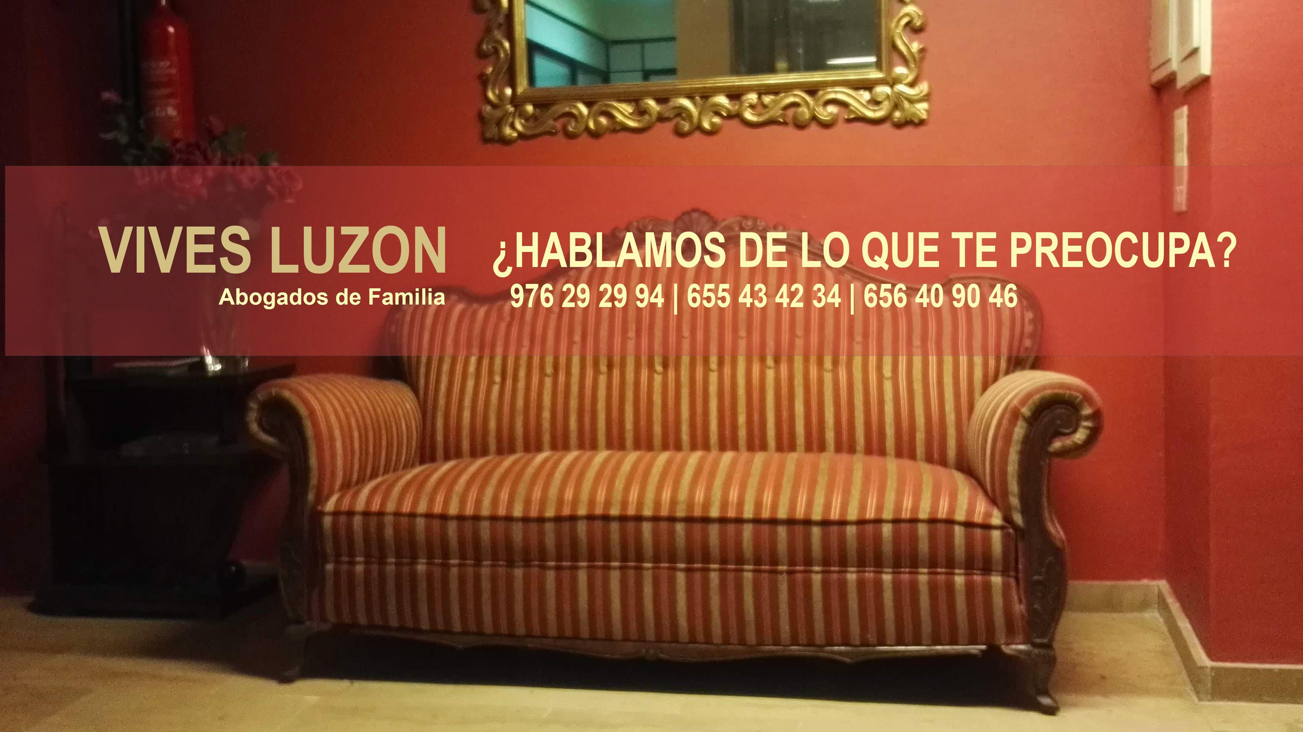 Abogados de separaciones y divorcios en Zaragoza
