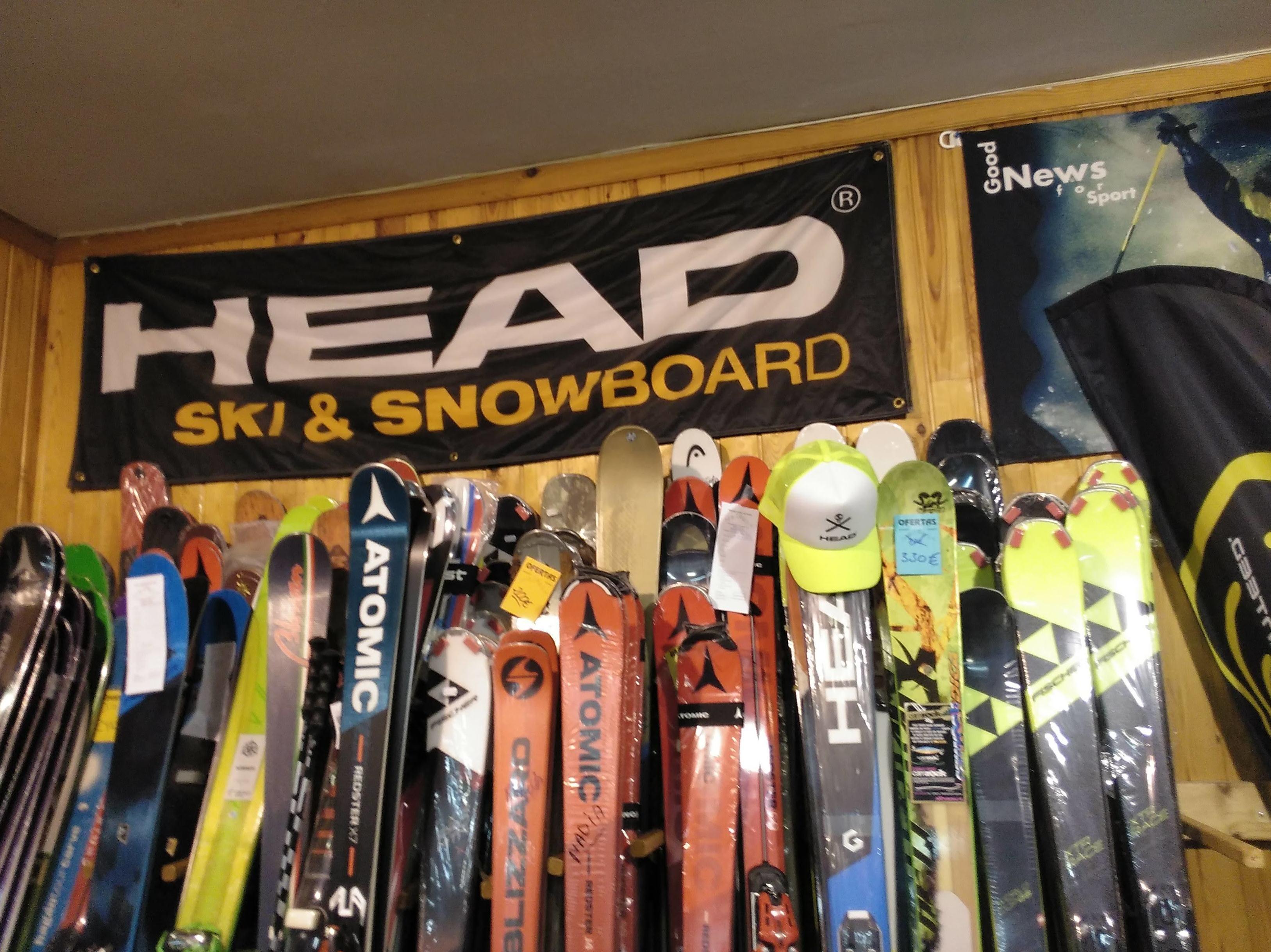 Venta esquís en Formigal