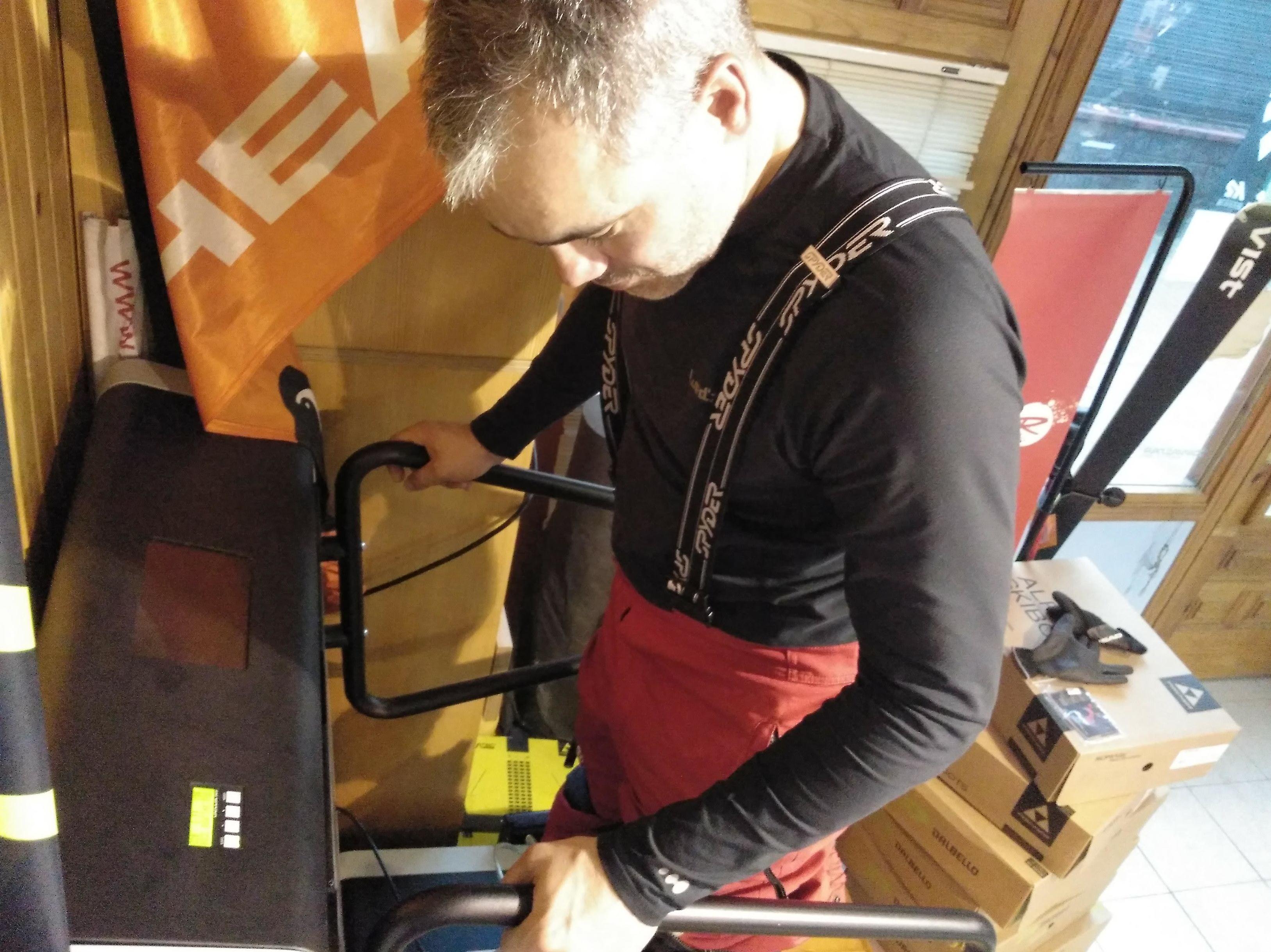 Personalización de botas de ski Formigal
