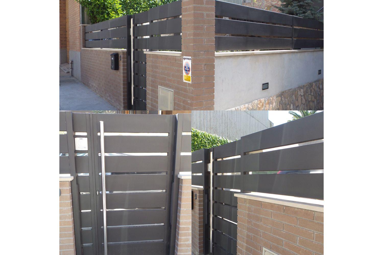 Puertas de acceso en Artesa de Segre