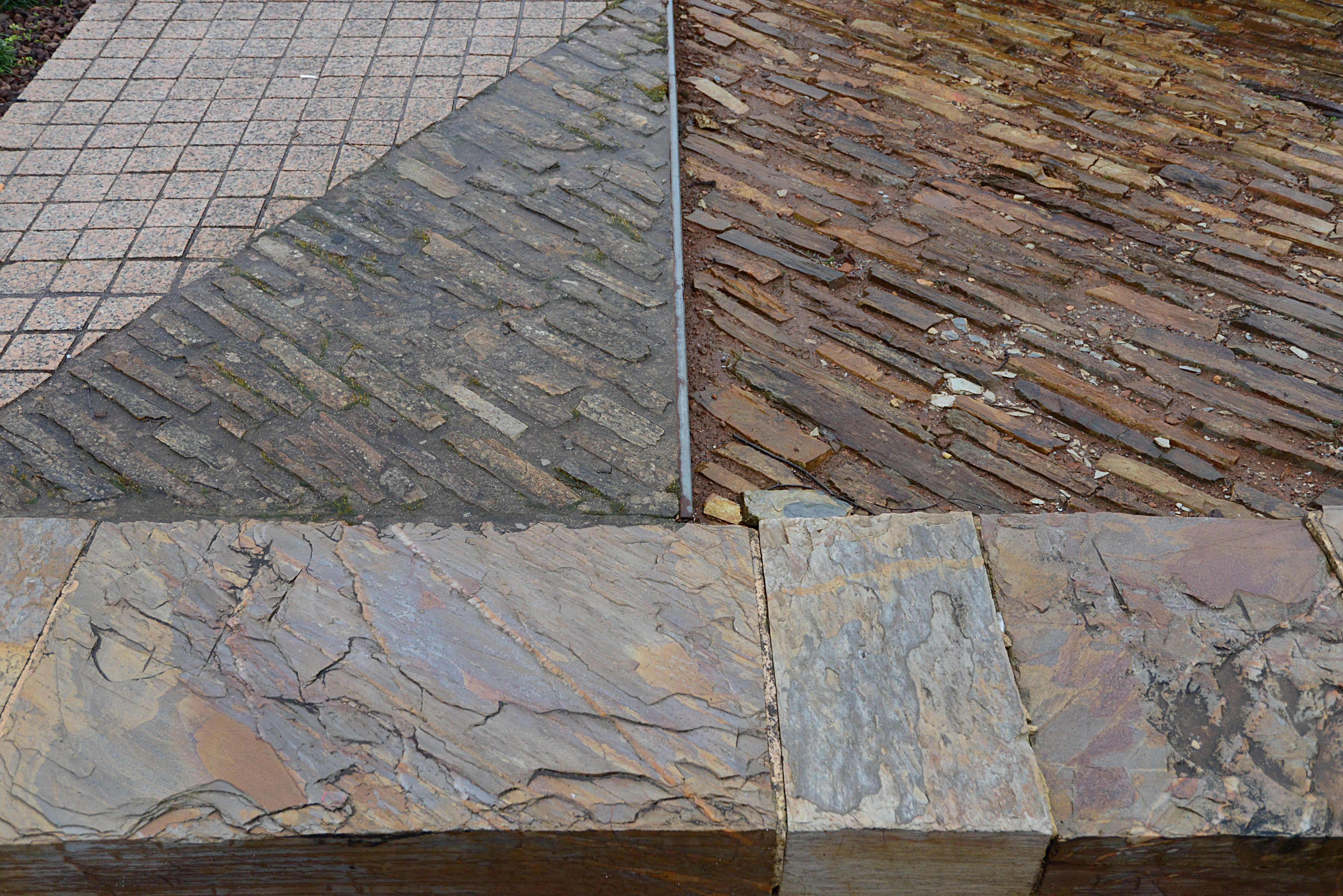 Diferentes tipos de piedra