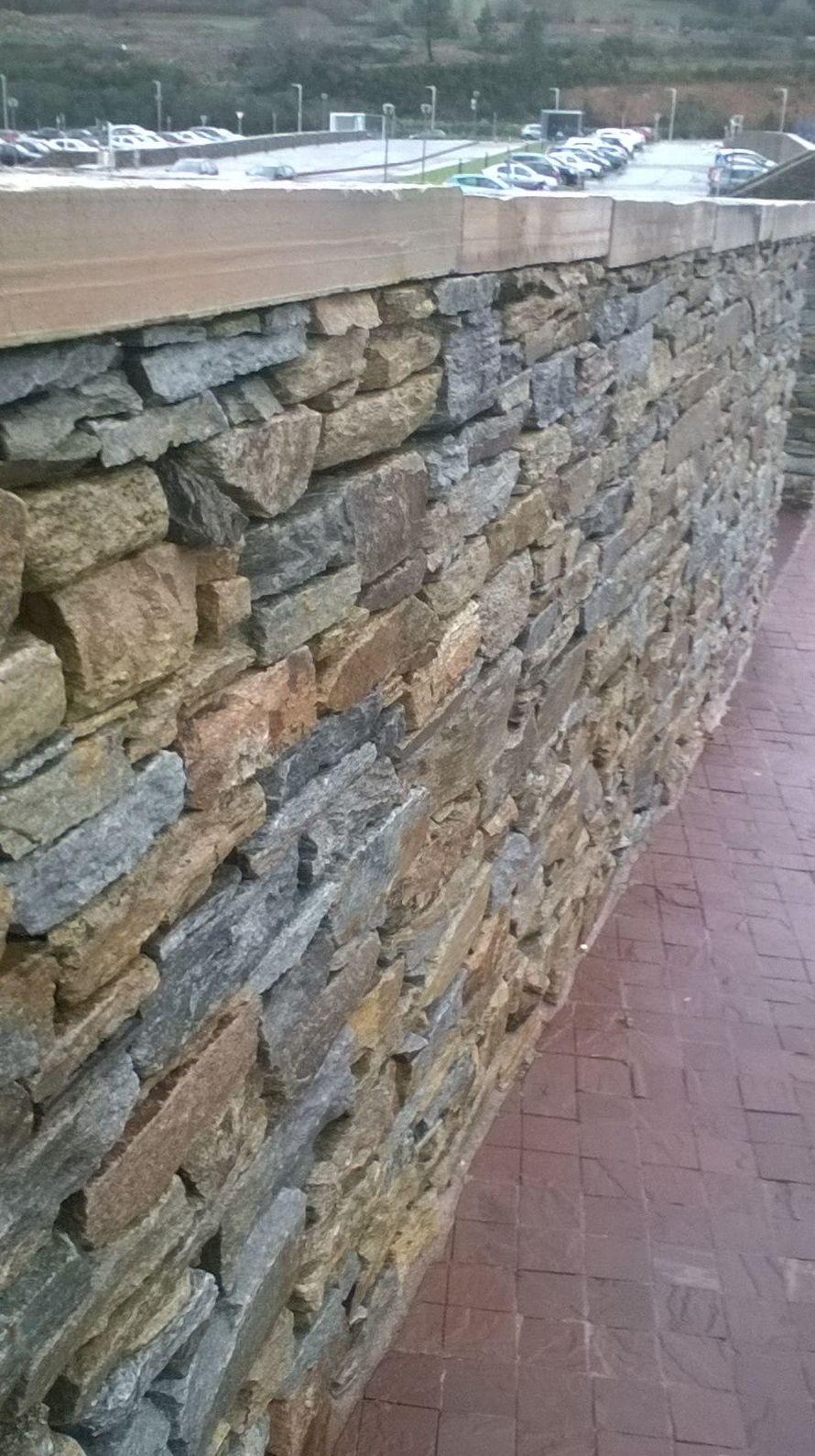 muro con tapa