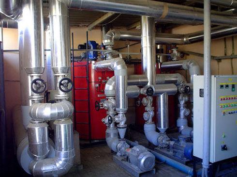 Instalaciones de agua sanitaria para industria