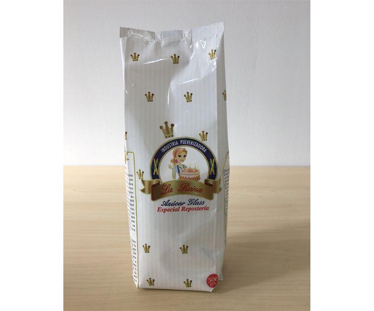 Paquete de azúcar glass de medio kilo en Madrid