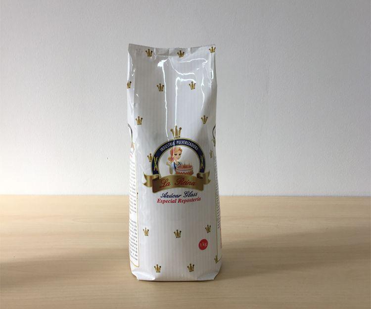 Paquete de azúcar glass de 1 kilo en Madrid