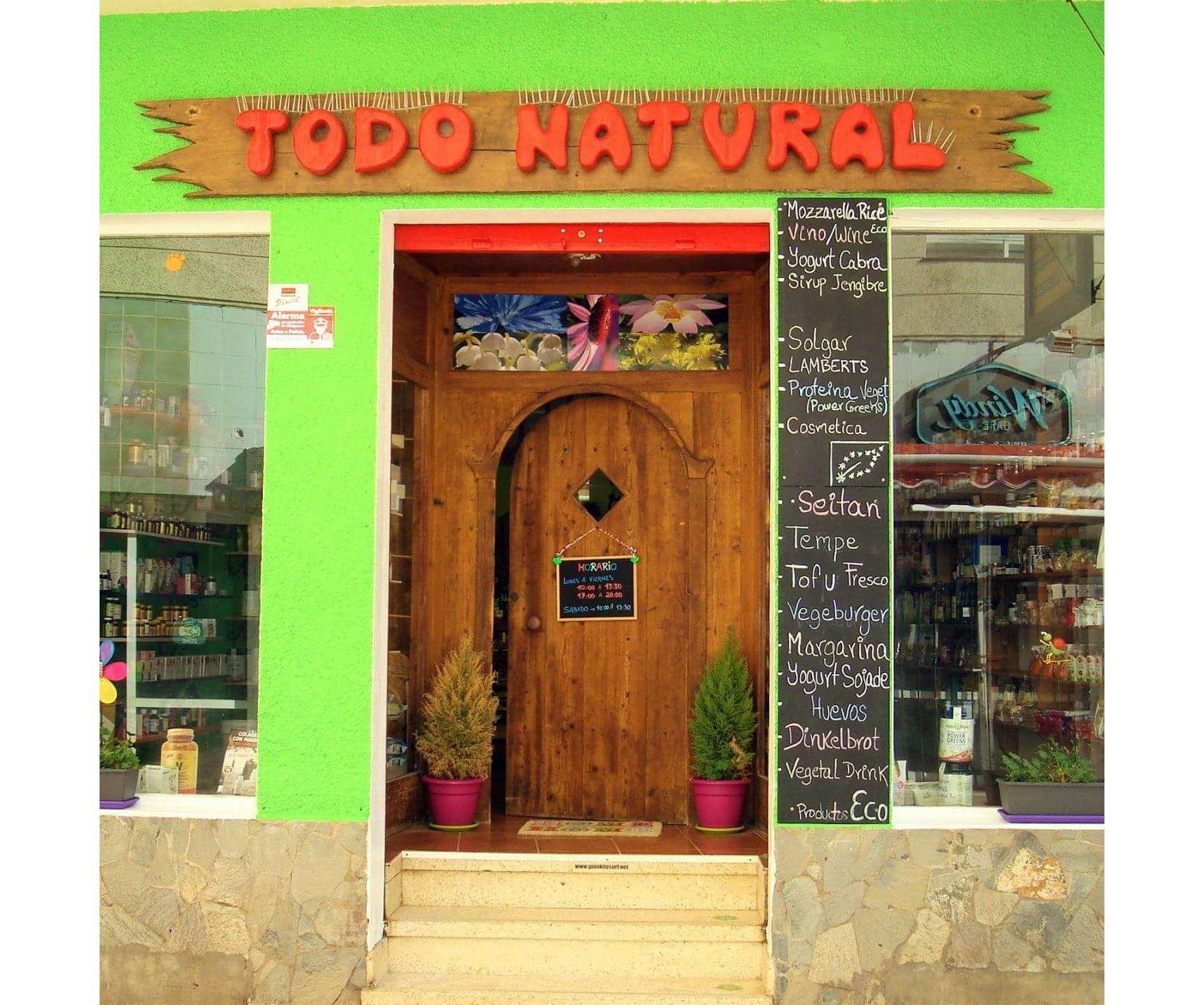 Productos eco en El Medano, Tenerife