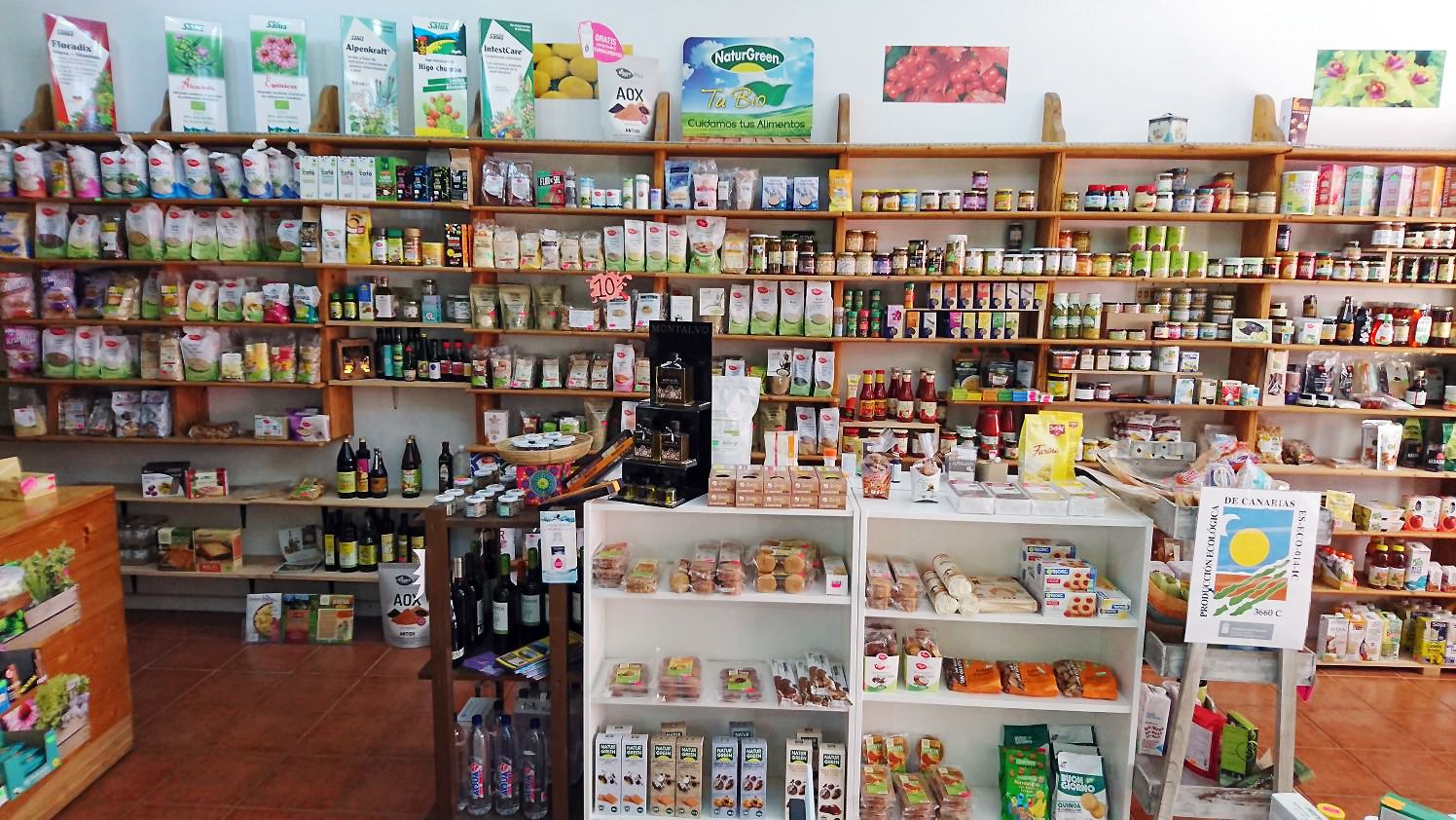 Productos Bio en Tenerife sur