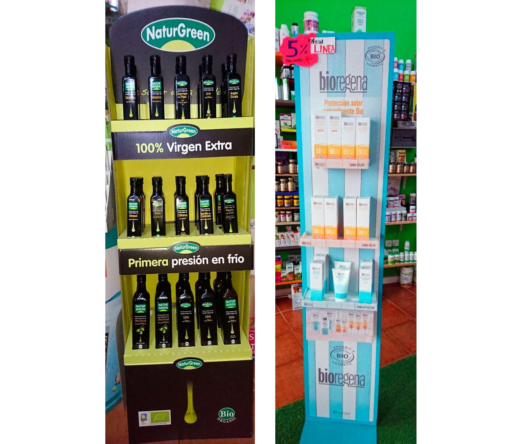 Productos de cosmética y alimentación natural en Tenerife