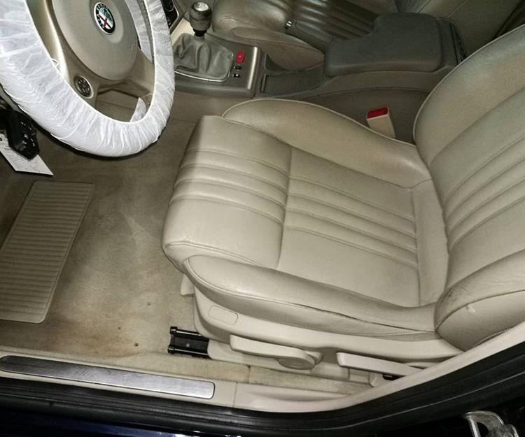 Limpieza de asientos del coche