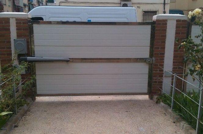 Instalación de puertas automáticas en Hospitalet de Llobregat