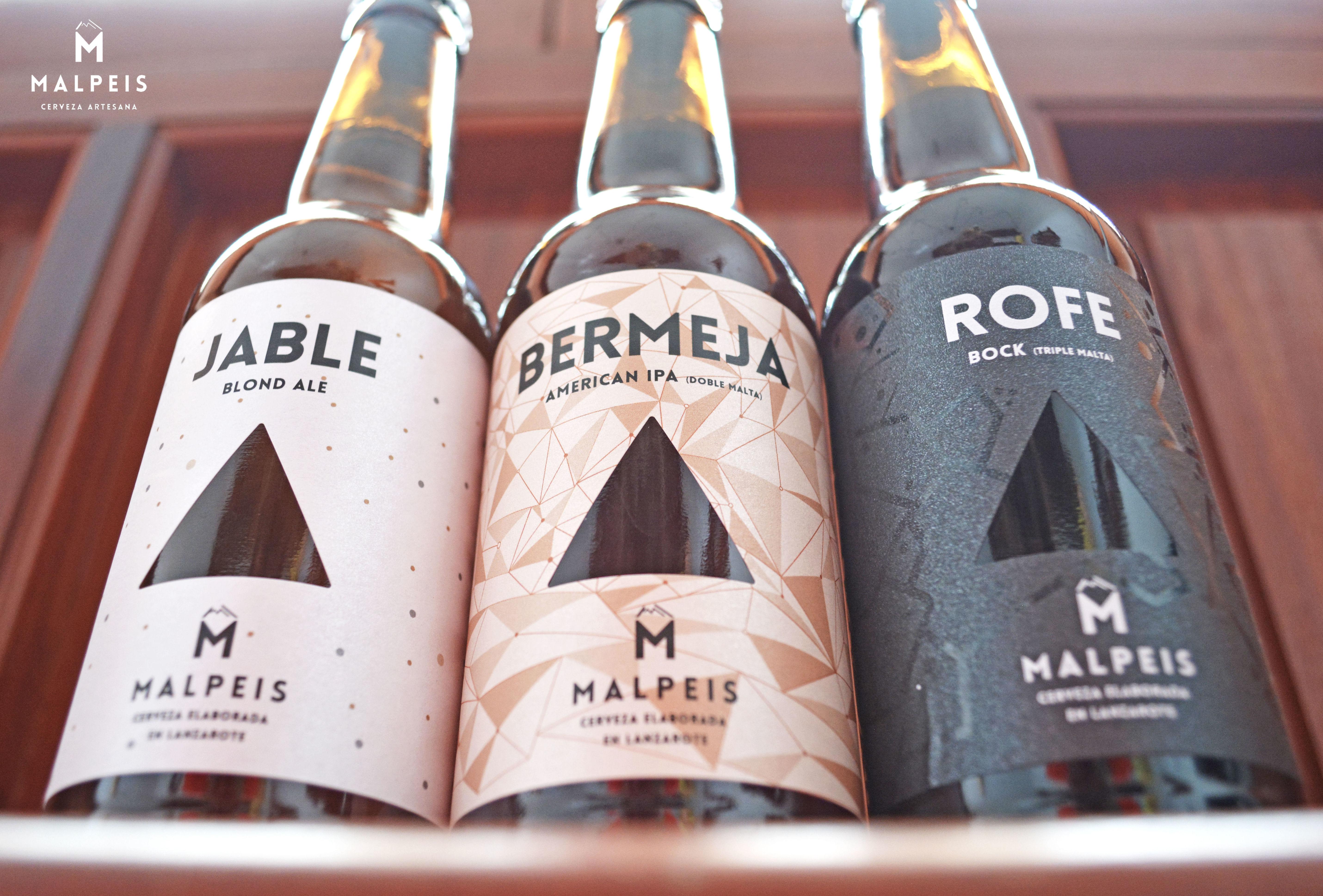 Nuestras variedades de cervezas artesanas Malpeis