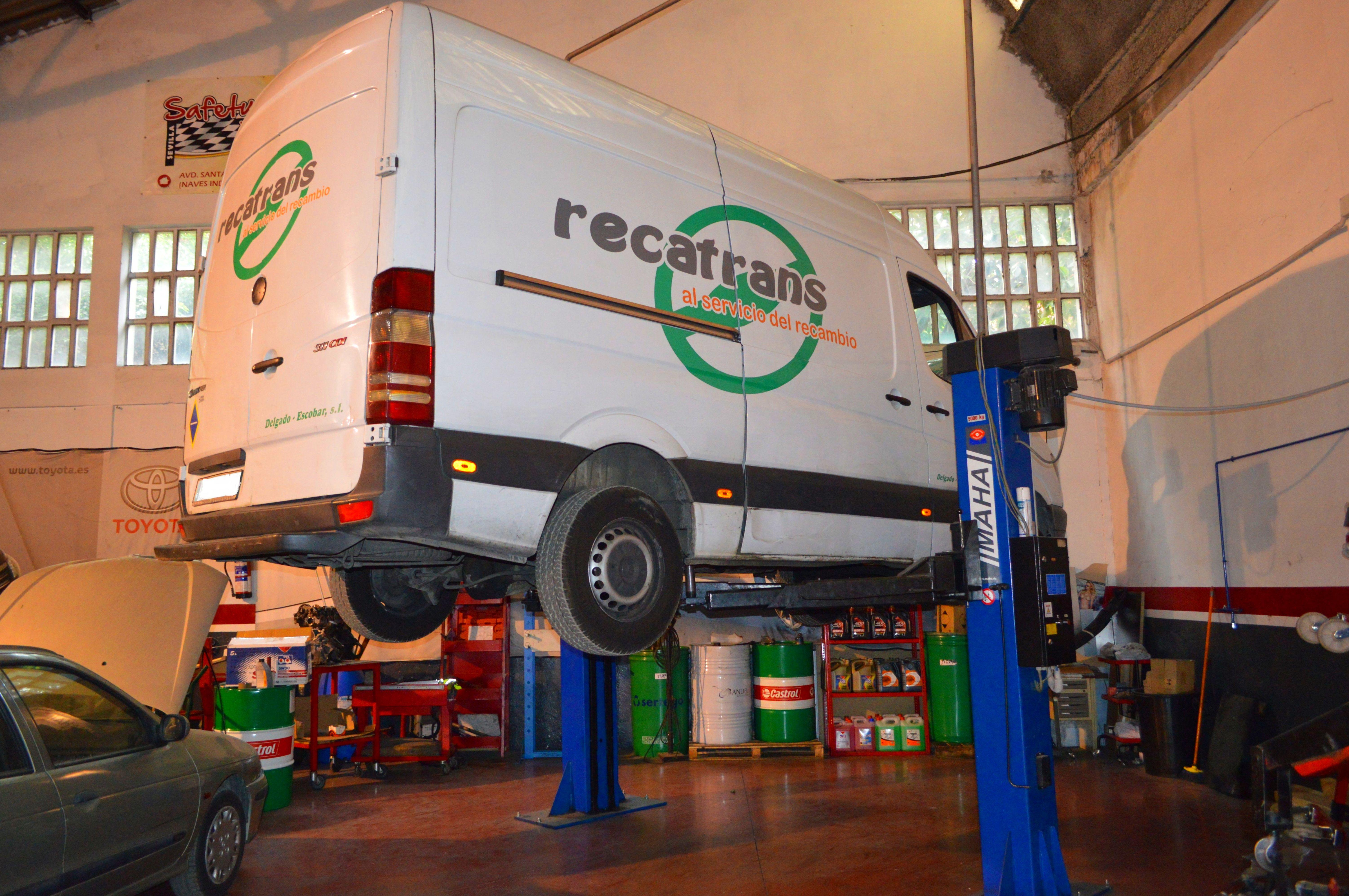Servicios a flotas y empresas: Nuestros servicios de Safety Car