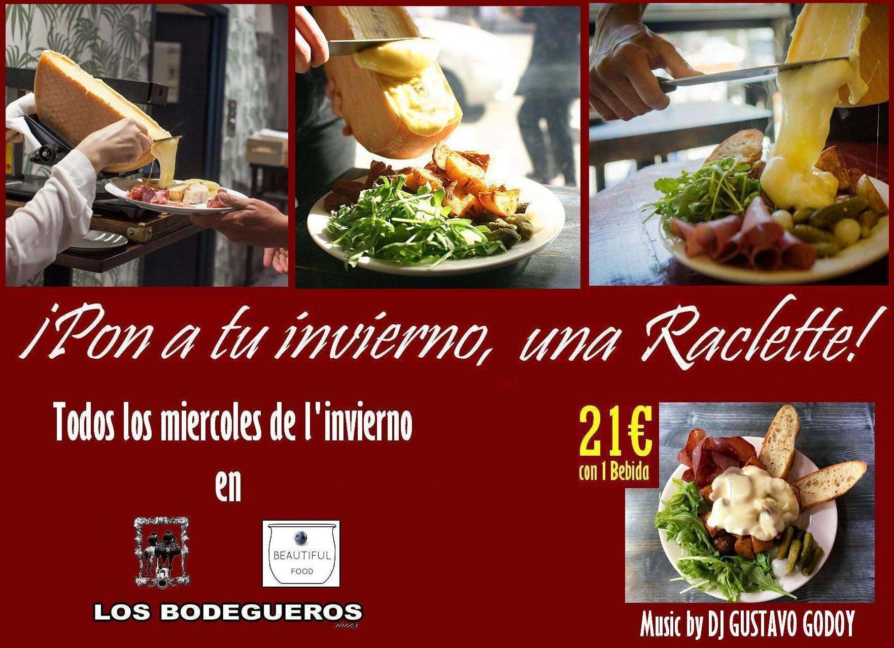 ¡Pon a tu invierno una Raclette !