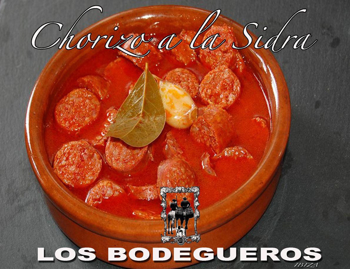 Choricitos a la sidra: Te proponemos de Los Bodegueros