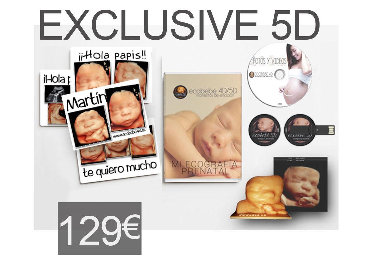 Sesión 5D Exclusive: Servicios de Ecobebé 5D
