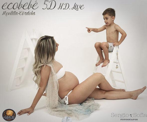 Sesión de fotos embarazada ecobebé 5D