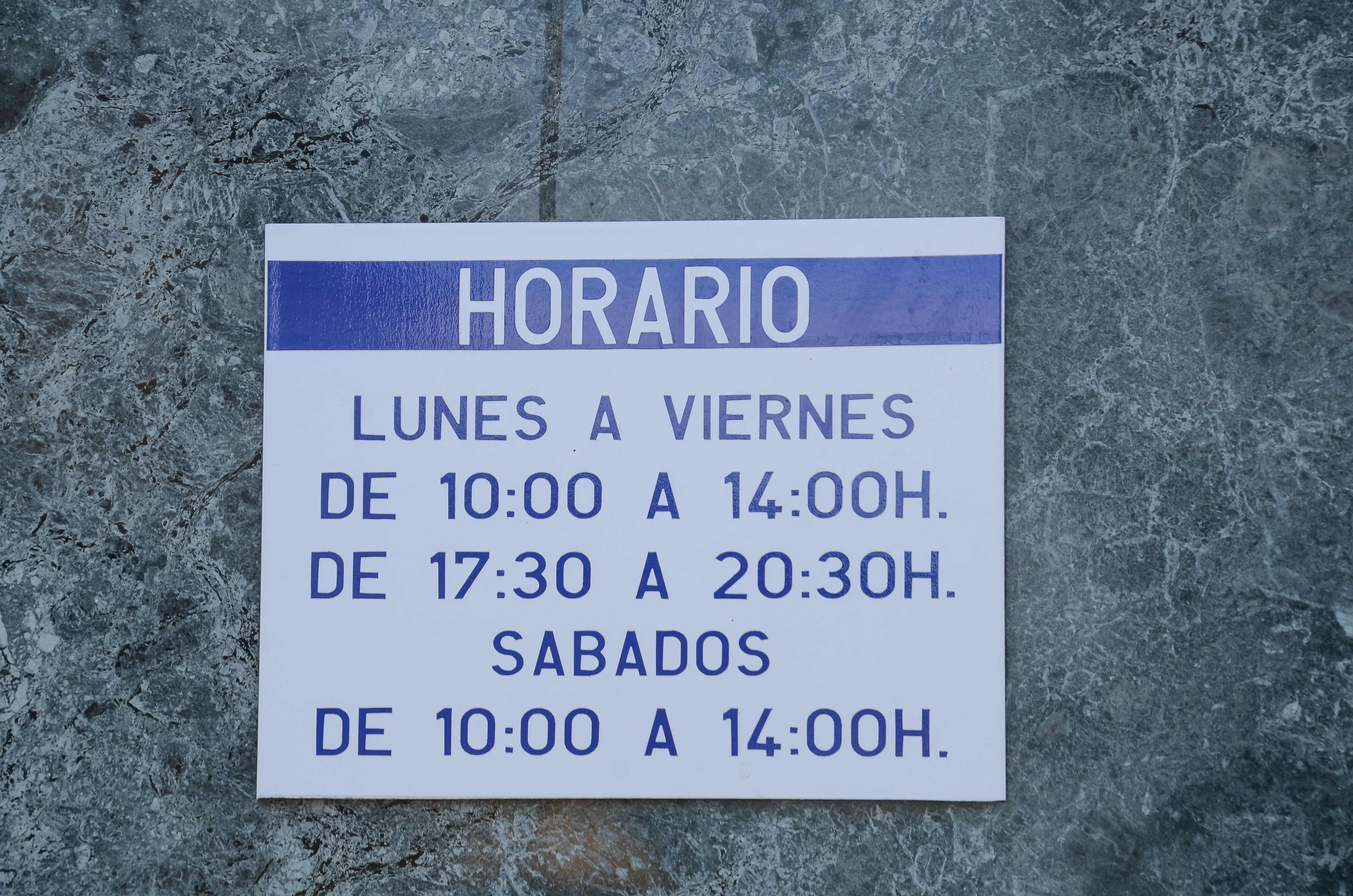 Horario de nuestra agencia de viajes en Fuente Álamo de Murcia
