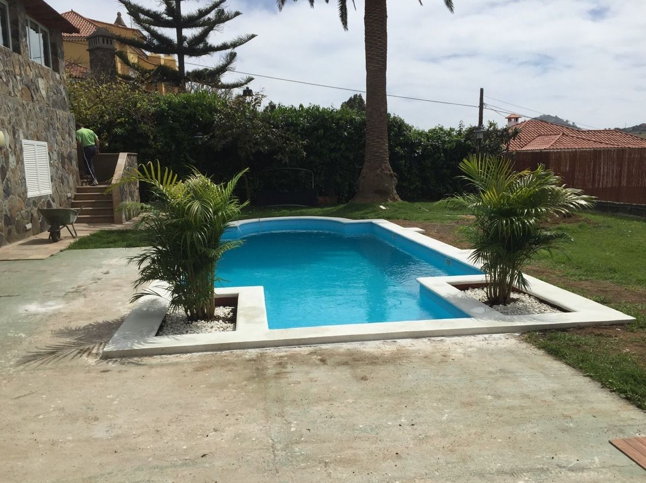 Construcción de piscinas en Las Palmas