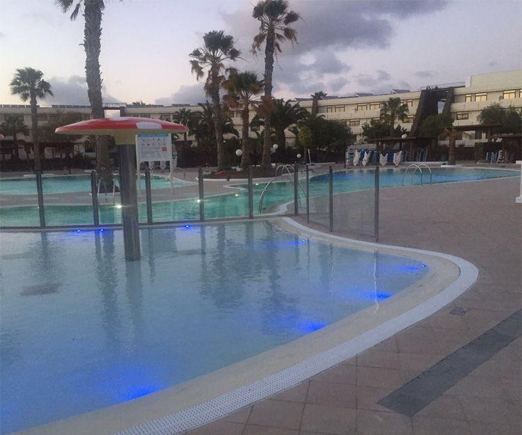 Piscinas infantiles en Lanzarote