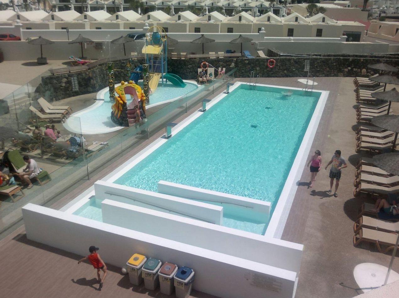 Fabricación e instalación de piscinas en Las Palmas de Gran Canaria