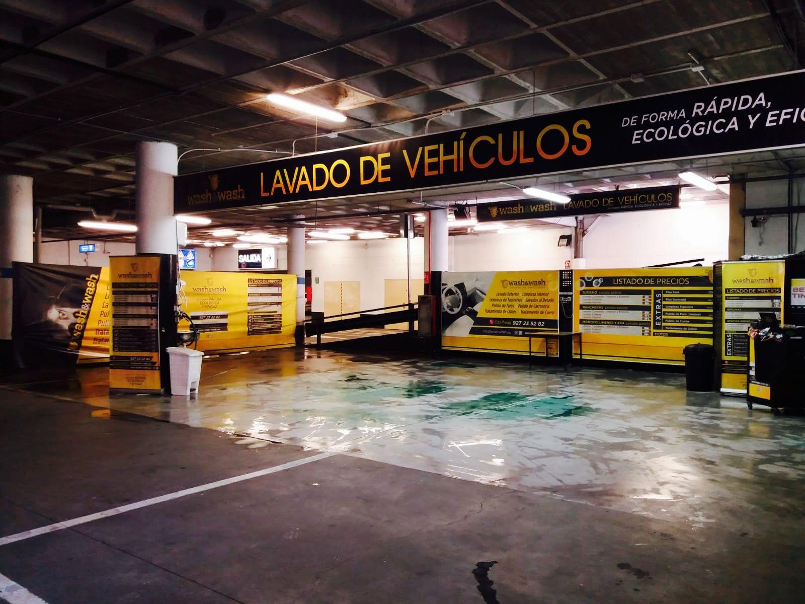 Lavado integral de vehículosen Cáceres