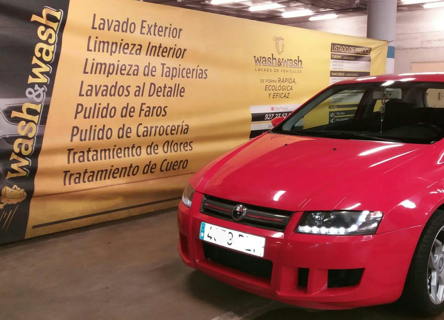 Limpieza de tapicerías: Servicios de Wash & Wash Cáceres
