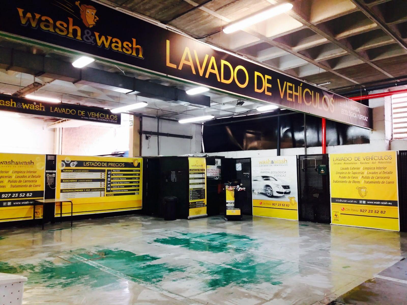 Lavado interior y exterior de coches en Cáceres