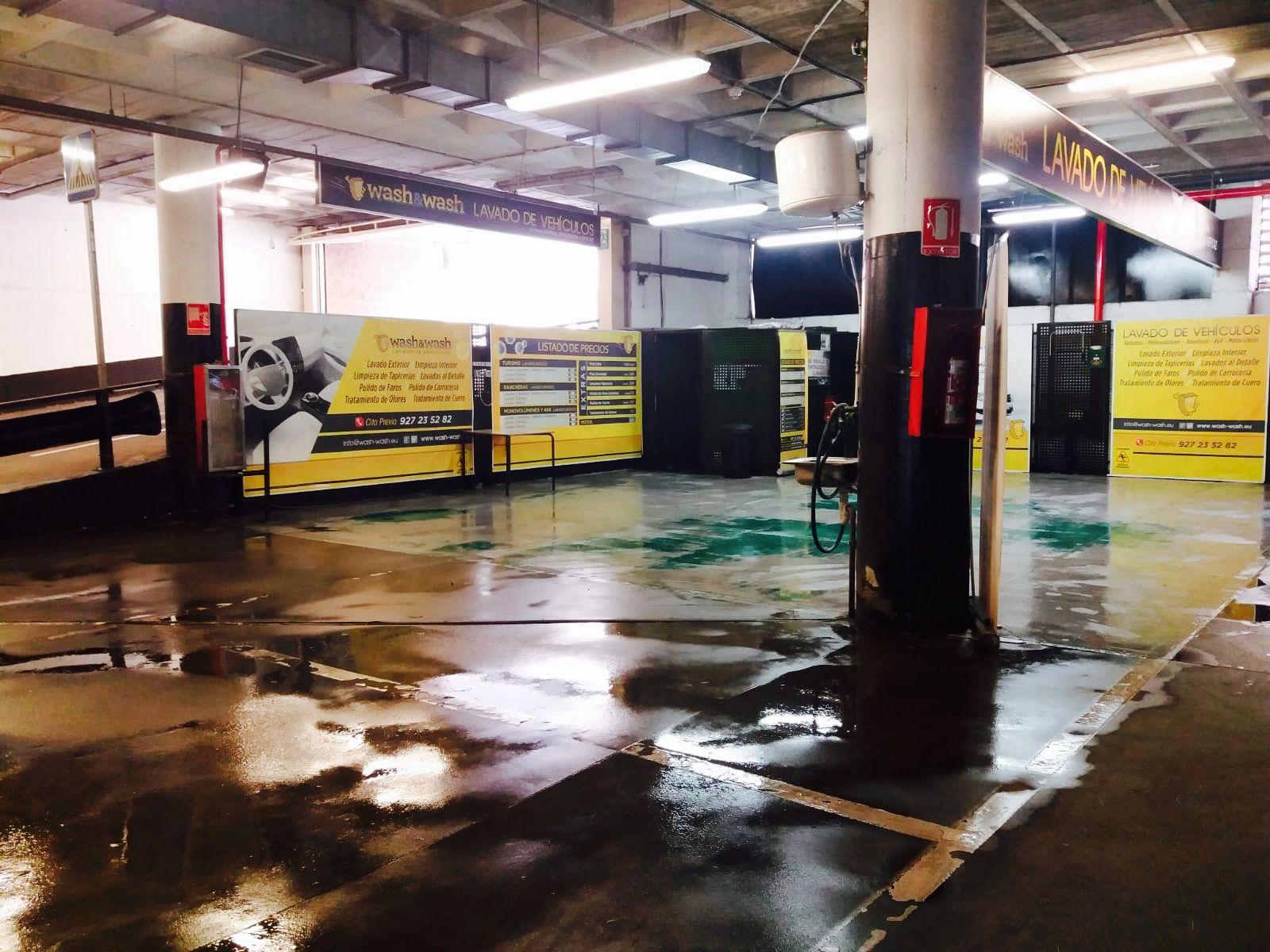 Centro de lavado de cochesen Cáceres