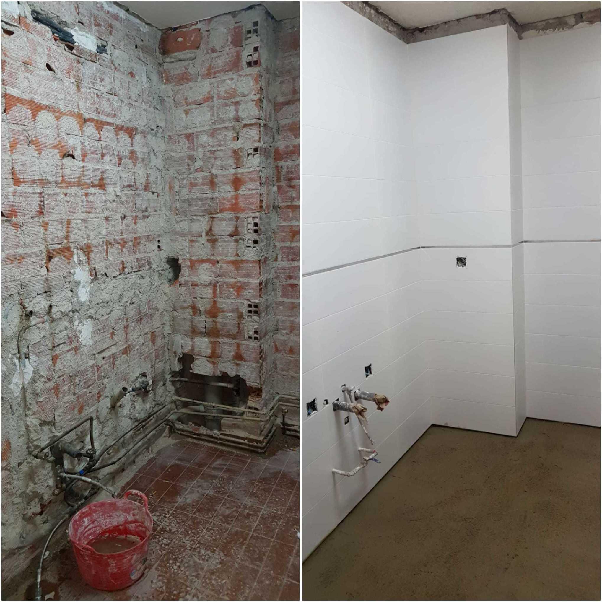 Antes y Después. Reforma de cocina.