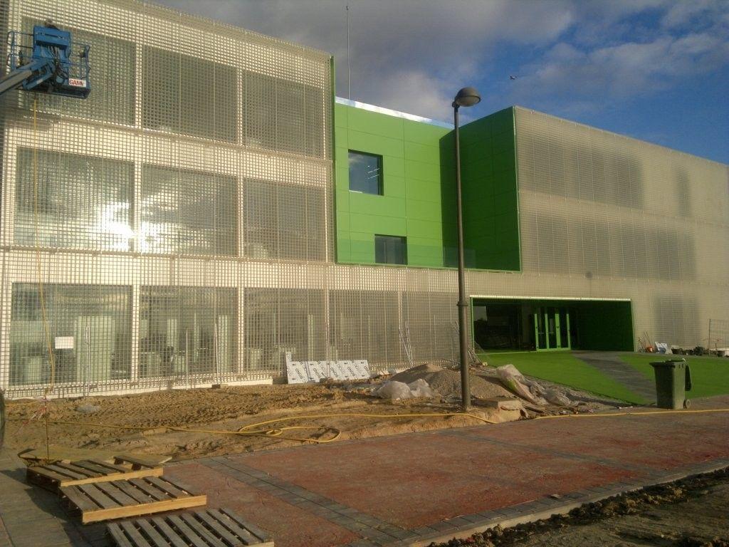 Fachadas aluminio Madrid