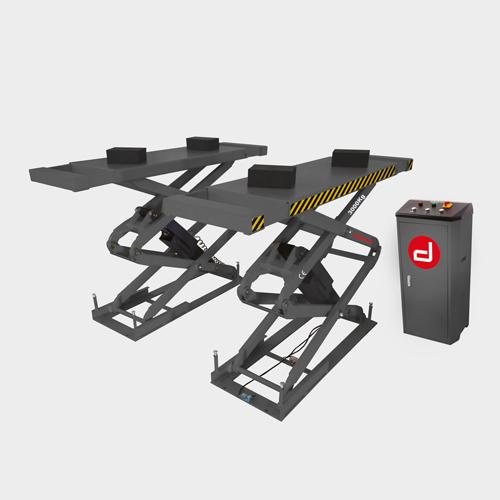 Elevador tijera 3000 Kg para empotrar en suelo: Productos de Maquidosa, S.L.