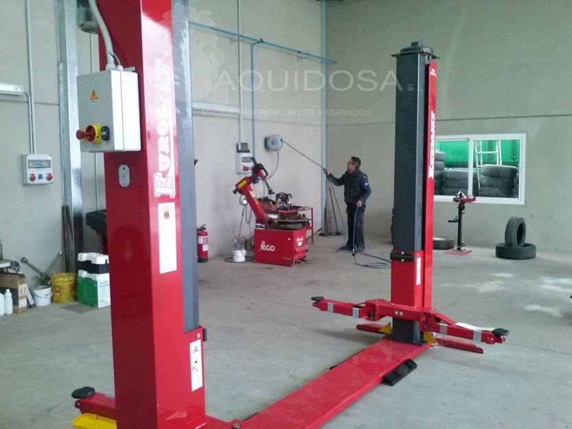 Elevadores de coches para talleres