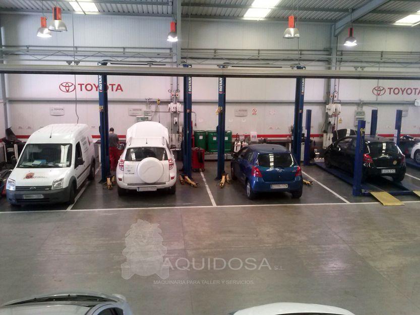 Proveedor de herramientas y máquinas para talleres en Andalucía