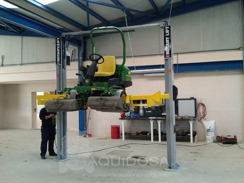 Mantenimiento de maquinaria de talleres en Andalucía