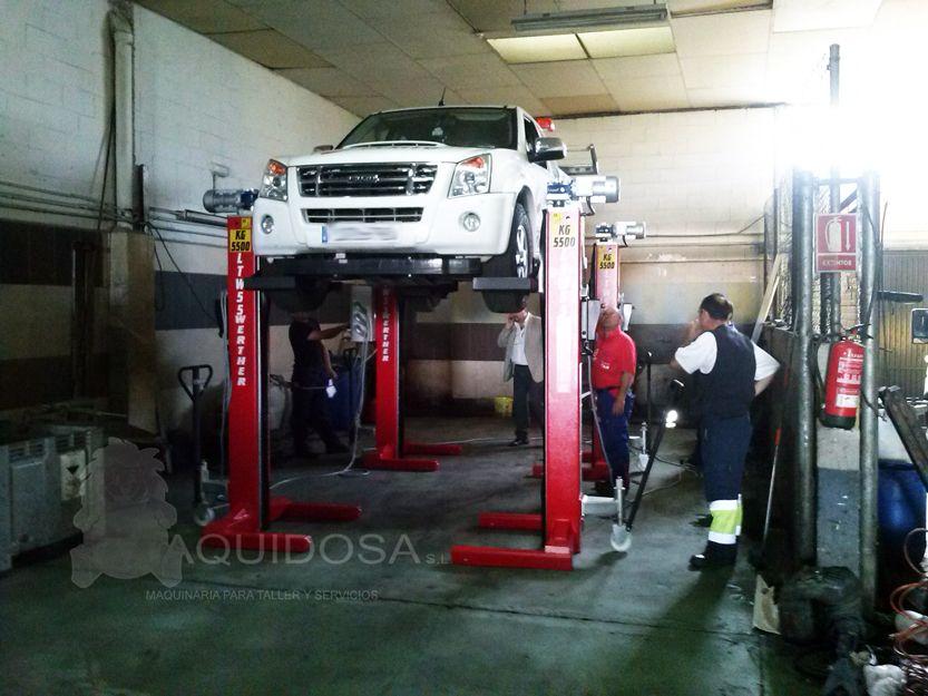 Maquinaria para talleres de automóviles en Andalucía