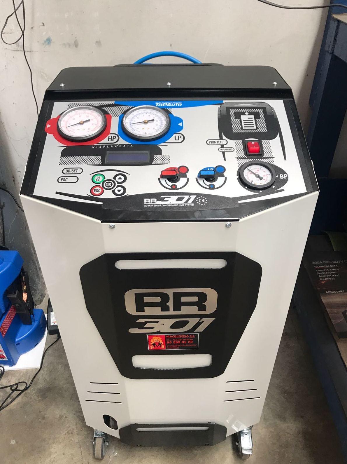 estacion carga gas R134