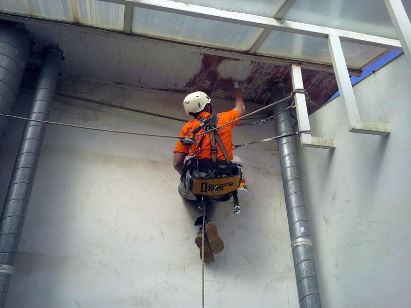 Trabajos verticales en Terrassa