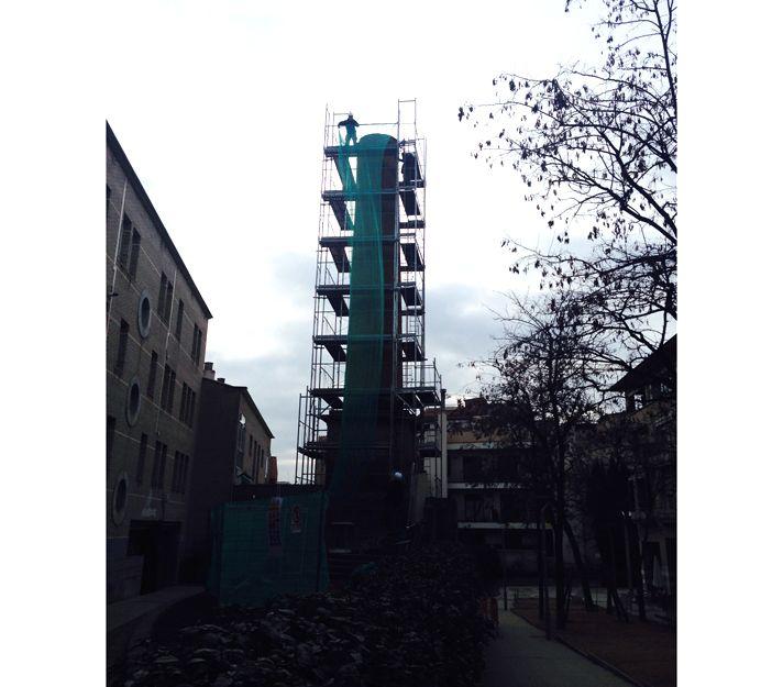 Rehabilitación de chimenea